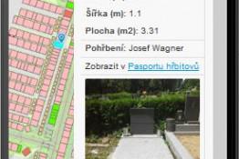cintoriny online, Cintoríny online, T-MAPY spol. s r.o.