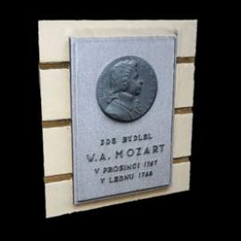 Pamětní deska - W.A. Mozart_mini